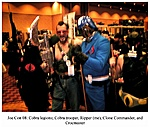 Ripper with Cobra Commander and Soldier