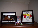 Dana Synder and Jay Edwards Autographs, Kidrobot Squidbillies Granny and Early making some brew.