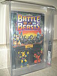 Battle Beasts 1986  Series 1  Hardtop Tortiose/Rubberneck Giraffe  AFA 85