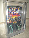 Battle Beasts 1986  Series 1  Hare Razing Rabbit/Danger Dog  AFA 85