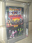Battle Beasts 1986  Series 1  Killer Carp/Triple Threat Snake  AFA 85