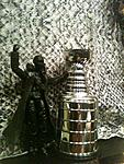 Snake Eyes with Stanley cup on Snake Ave.