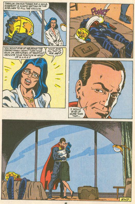 Destro S Real Face In Marvel Comics Hisstank Com
