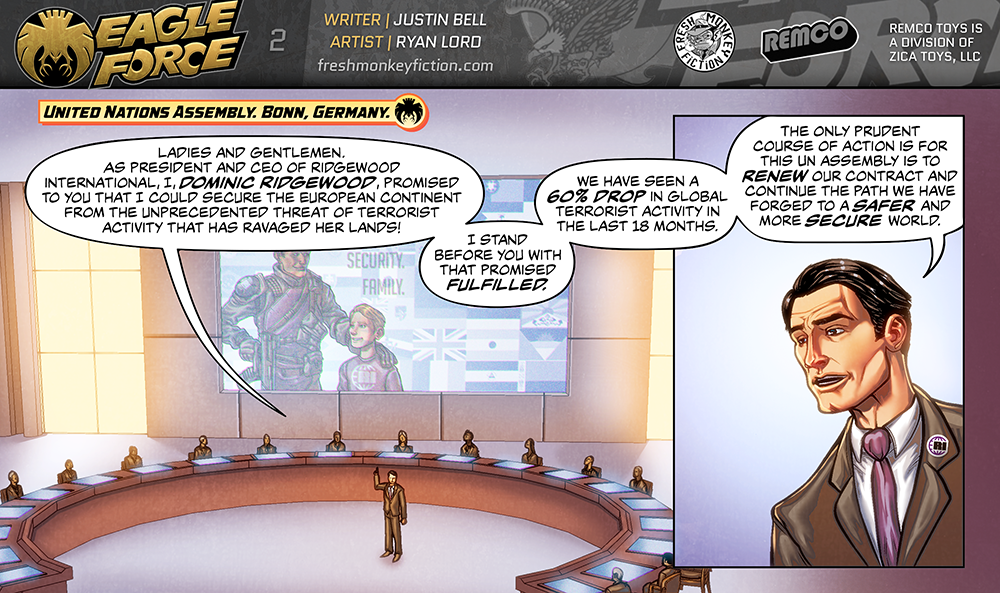 Eagle Force Returns Shattered Peace Web Comic - PIC HEAVY-eagle-force-returns-shattered-peace-page-2.png