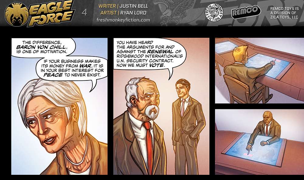 Eagle Force Returns Shattered Peace Web Comic - PIC HEAVY-eagle-force-returns-shattered-peace-page-4.png