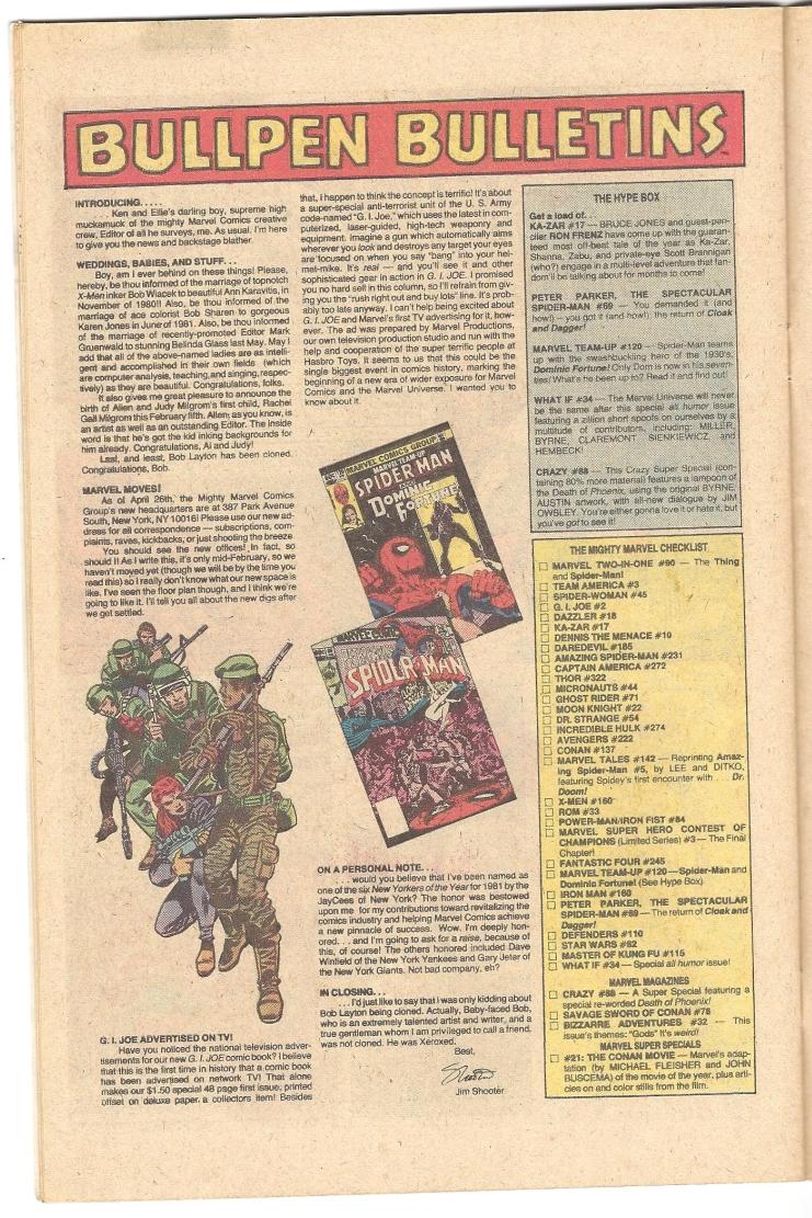 Bullpen Bulletins - August, 1982-yojoe.jpg