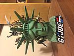 Custom Statue Of Liberty head diorama from opening of GI JOE: THE MOVIE-img_2699.jpg