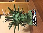 Custom Statue Of Liberty head diorama from opening of GI JOE: THE MOVIE-img_2700.jpg