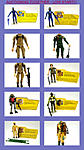 *** ~~~ 10 PLASTIRAMA W/ FILECARDS : Cobra officer + Soldier + Tan zap & Many more **-octjoes.jpg