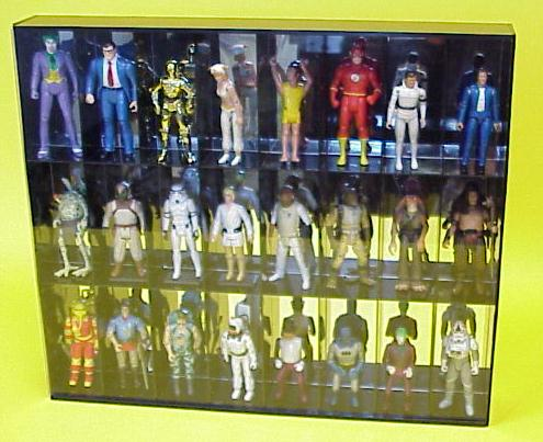 Genial Wall Mountable 24 Action Figure Display Cases For Sale 7