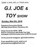 Pasadena, CA GI JOE & TOY SHOW - MAY 6th, 2018-joebrosflyer.jpg