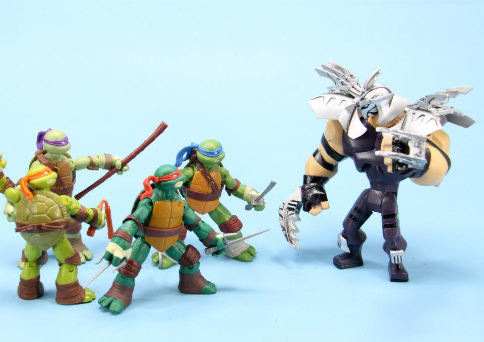 Teenage Mutant Ninja Turtles Shredder Toy : Animated super shredder nickelodeon syle! hisstank.com