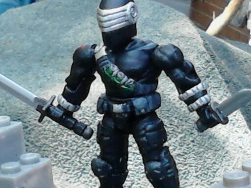 Mega Bloks Snake-Eyes & Storm Shadow - HissTank com
