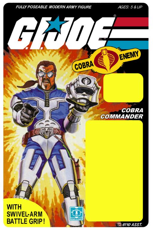 Cobra commander unmasked - photo#28