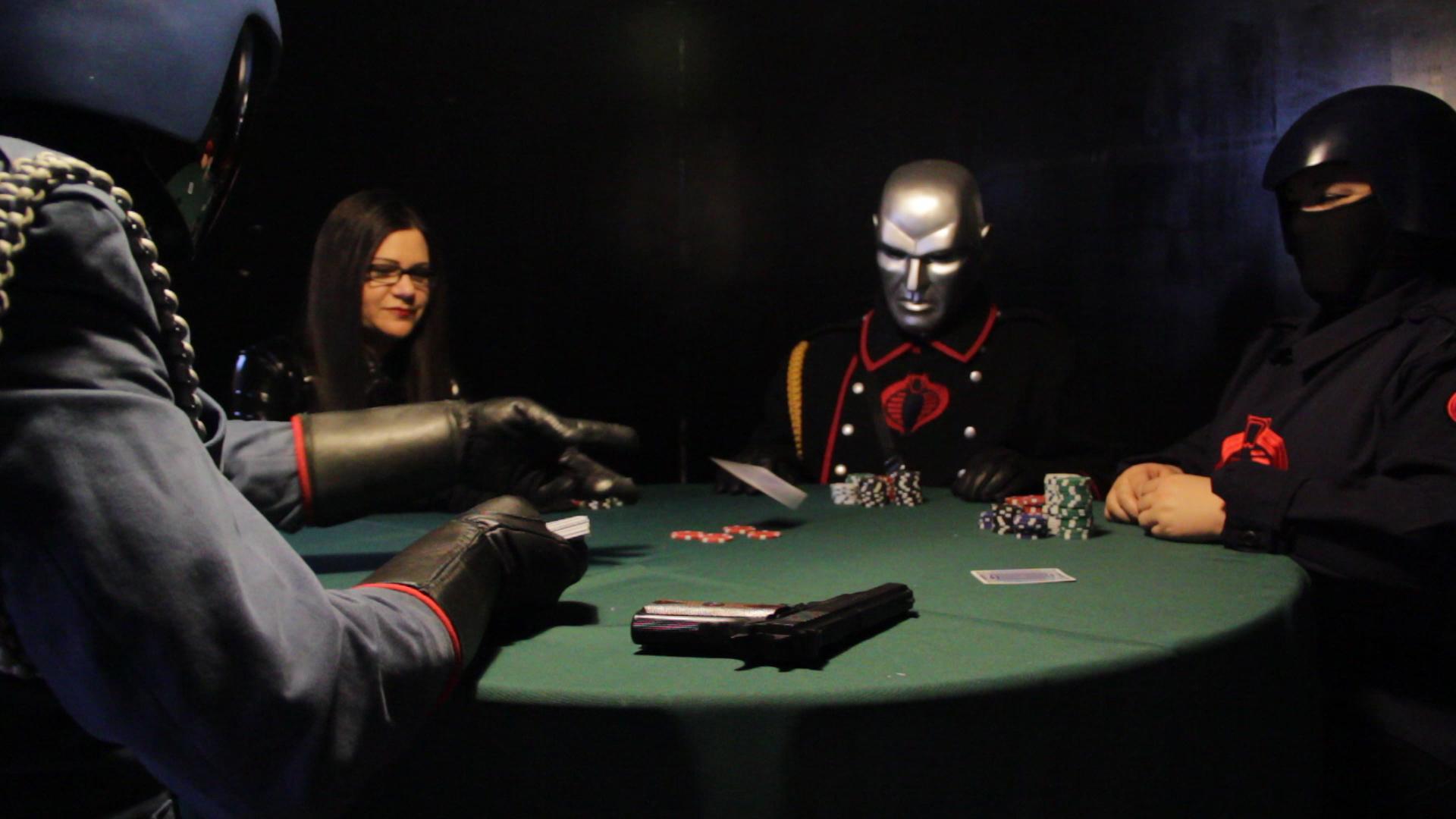 Cobra Command Poker Game - HissTank.com