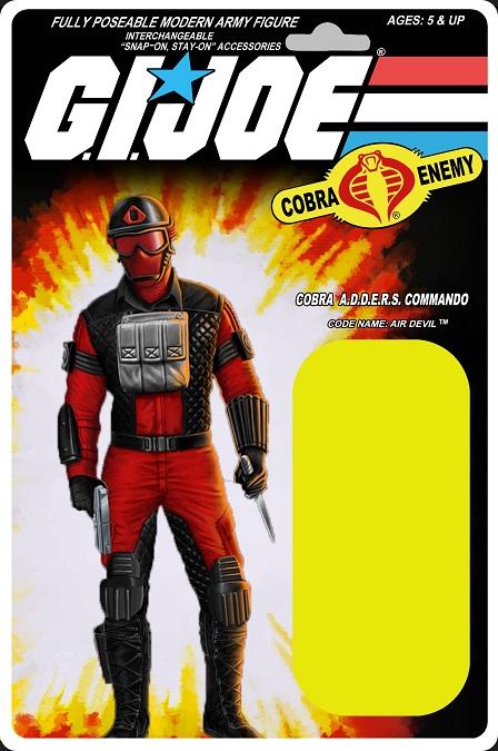 GI Joe 25th Anniversary Cobra Air Devil Commando READ!!!
