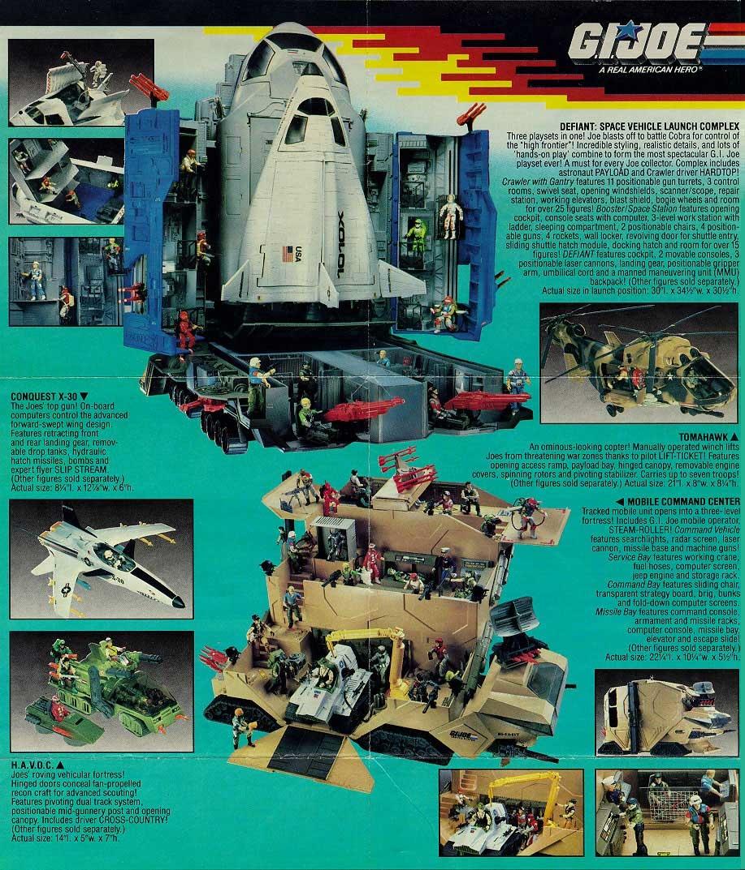 GI Joe Vehicle Defiant Shuttle Rear Landing Gear COVER w Tabs 1987 Original Part