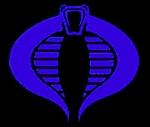 Hiss Tank.com Live Action G.I. Joe Movie Script Review-gi-joe-25th-logo-blue-cobra.jpg