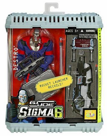 OAFE - GI Joe Sigma 6: Crime Boss Destro review