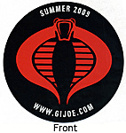 Hasbro Toy Shop G.I.Joe Cobra Logo Movie Promo Magnet Review-temp006.jpg