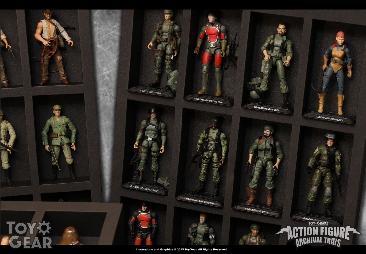 Merveilleux ... Action Figure Foam Trays U0026amp; Cases Tg Afat Tray Gijoe