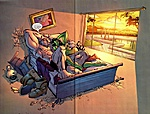 """OLD Marvel Universe 3.75"""" figures-shulkie-loves-juggernaut.jpg"""