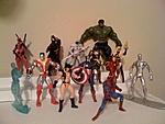 """OLD Marvel Universe 3.75"""" figures-line-up.jpg"""
