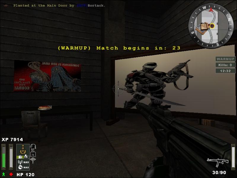 Wolfenstein Enemy Territory with Gijoe Vs Cobra mod